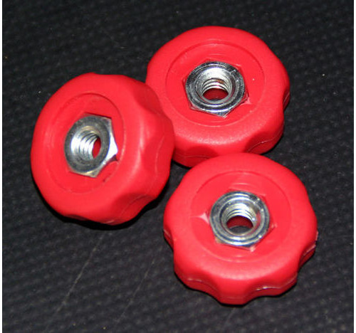 Rod Stand Coloured Knob Red