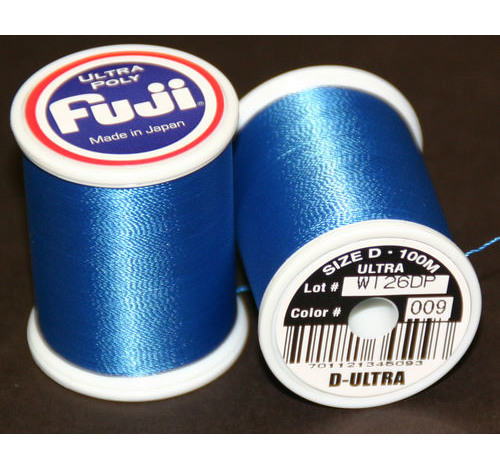 Fuji Ultra Poly 100m Spool ROYAL BLUE D