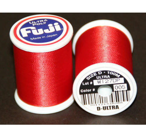 Fuji Ultra Polly 100m Spool SCARLET D