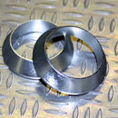 Tope de enrollado cónico de aluminio Plateado DI=6,5, DE=13, G=4