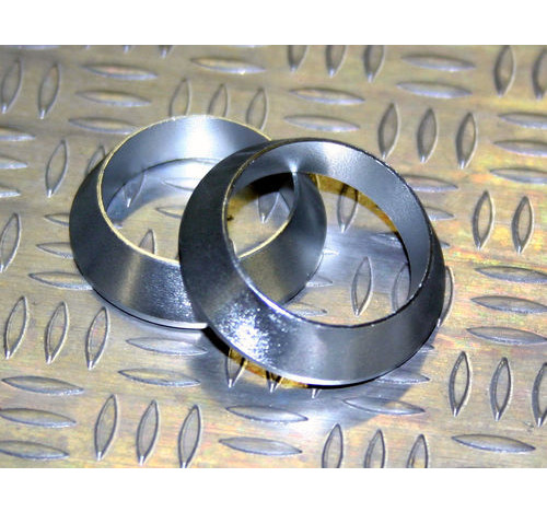 Al Tapered winding Check Silver ID=20, OD=25 , T=5.5.5