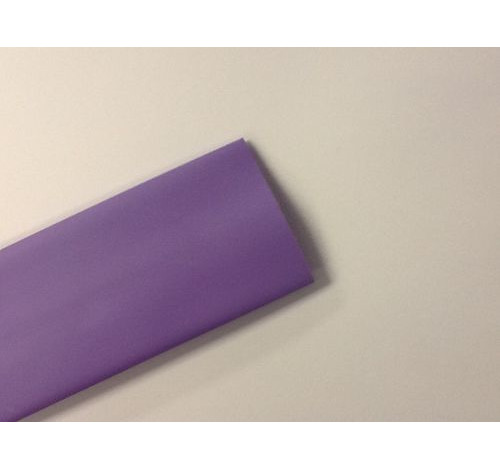 Plain Purple Shrink Wrap 32mm (WILL SHRINK TO 16mm)